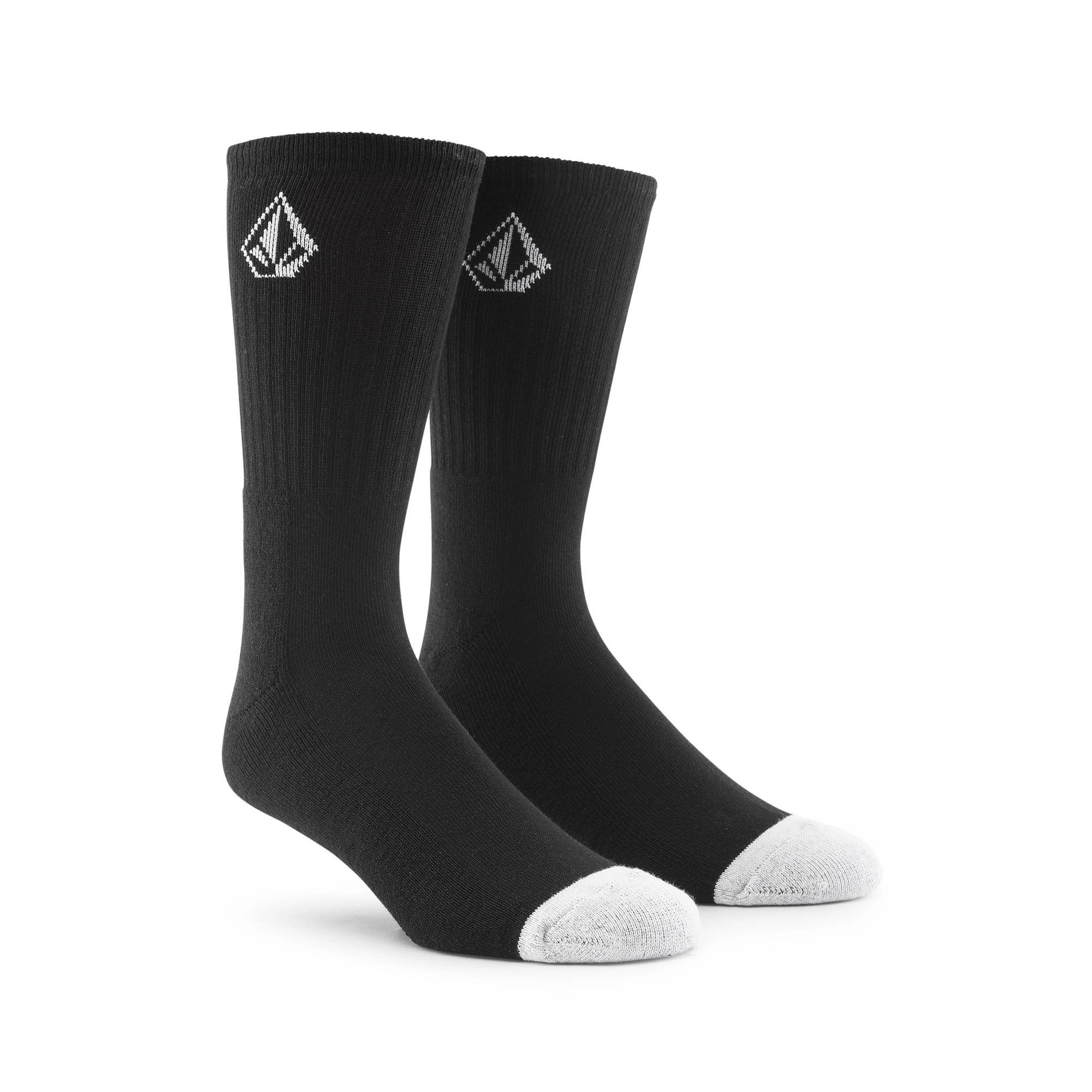 Volcom Full Stone Sock 3pk Black