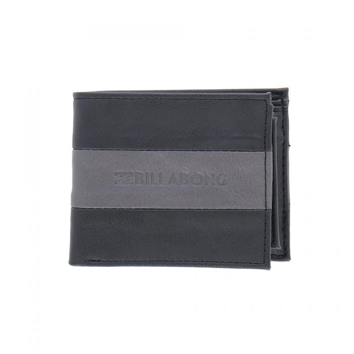 billabong portafogli e portachiavi black