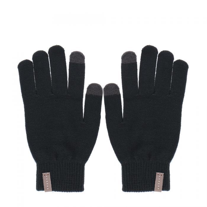 brekka sciarpe e guanti black