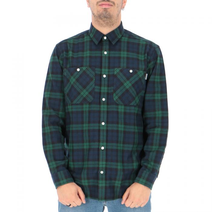 carhartt camicie sloman check colony/hedge