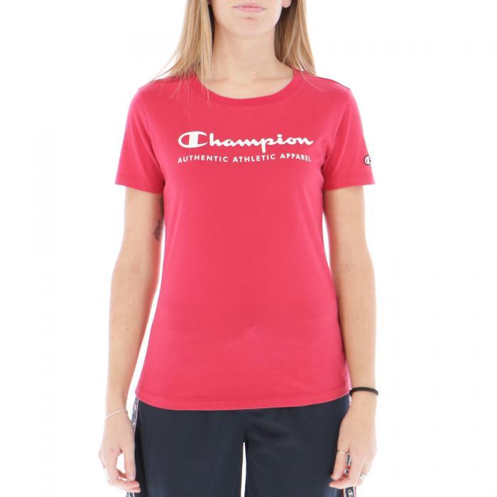 champion t-shirt e canotte red