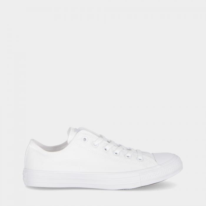 converse basse white monochrome