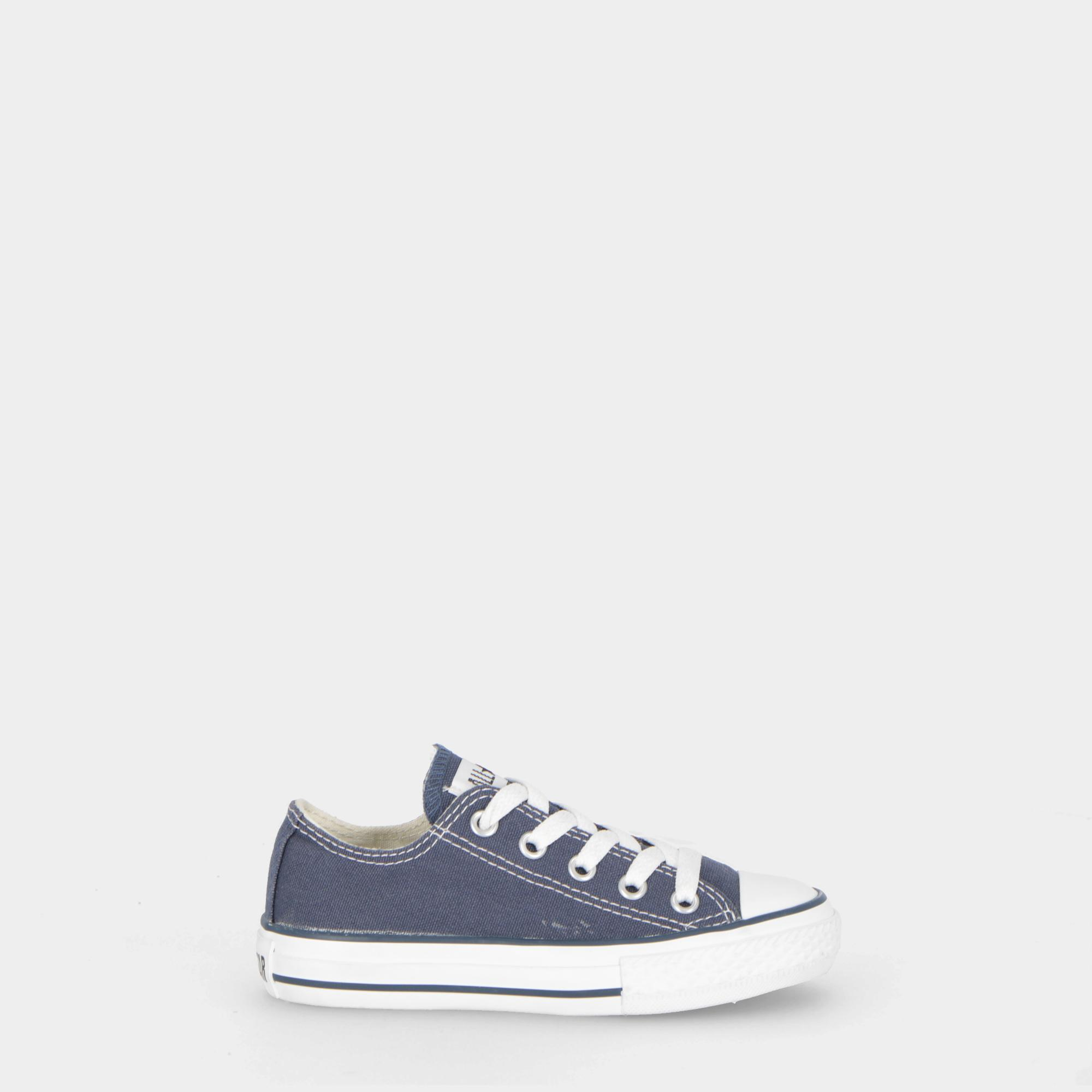 watch 333a2 263a4 Converse All Star Ox Canvas - Kids NAVY