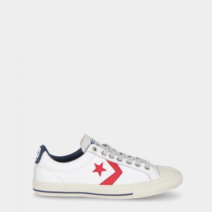 converse scarpe lifestyle white gym red soar