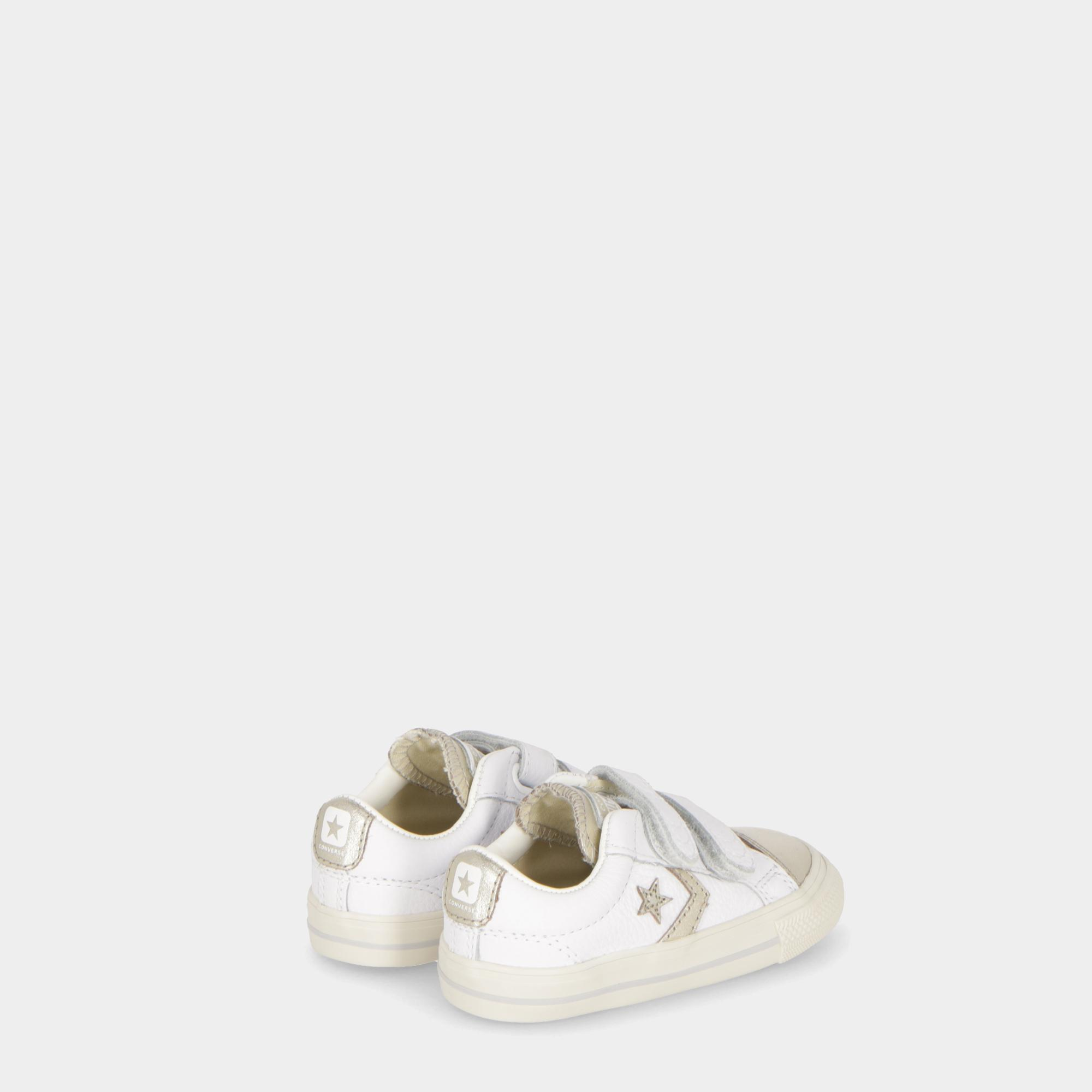Converse Star Player Ev 2v Ox - Kids White Light  27ac4e079