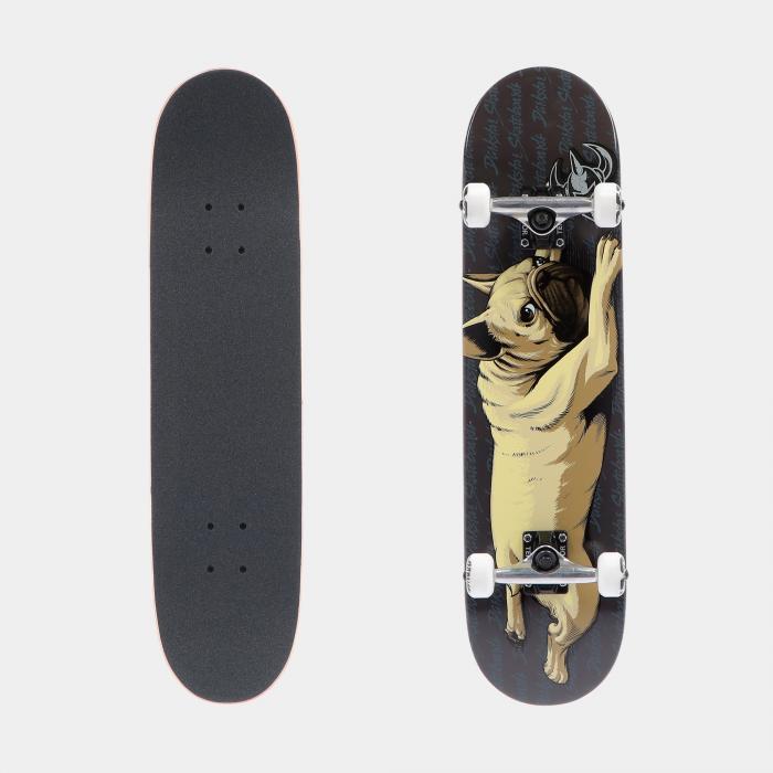 darkstar skateboard black