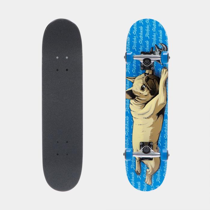 darkstar skateboard blue