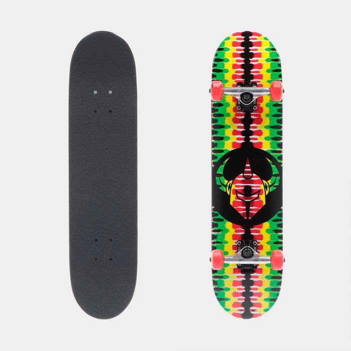 darkstar skateboard rasta