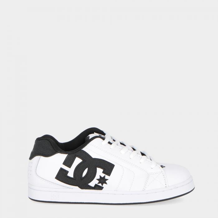 dc scarpe skate white white black
