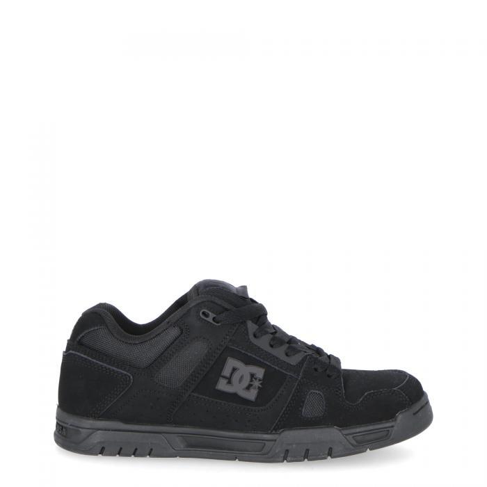 dc scarpe skate blk blk blk