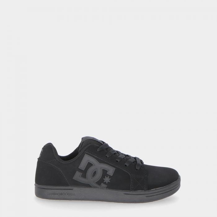 dc scarpe skate black soft lime