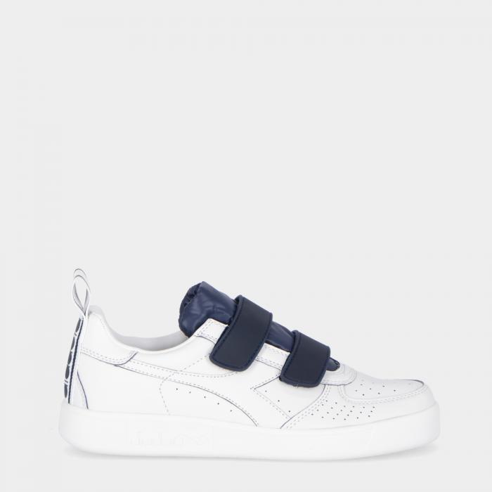 diadora scarpe basket white blue