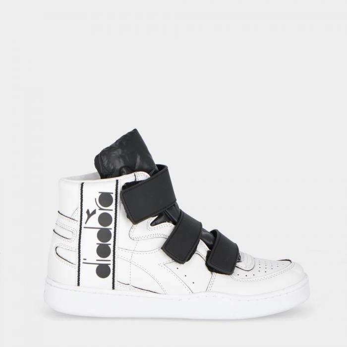 diadora scarpe basket white black