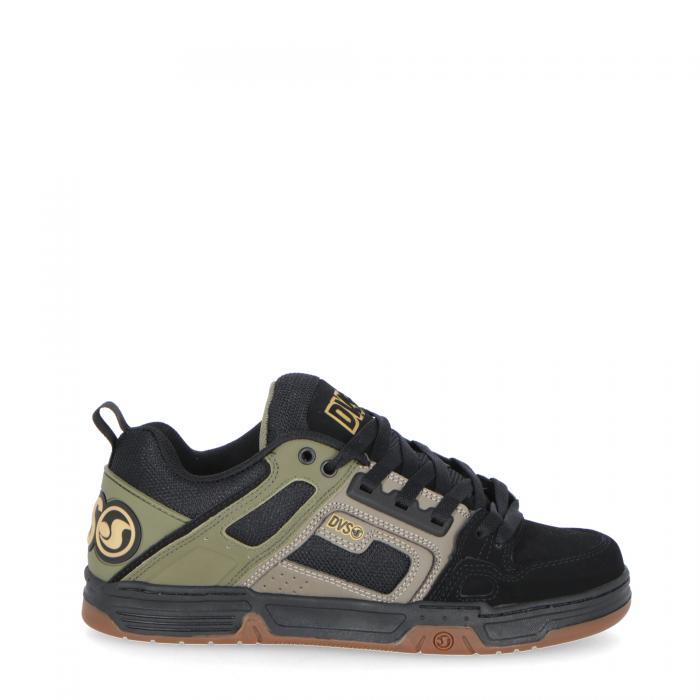 dvs scarpe skate olive black nubuck