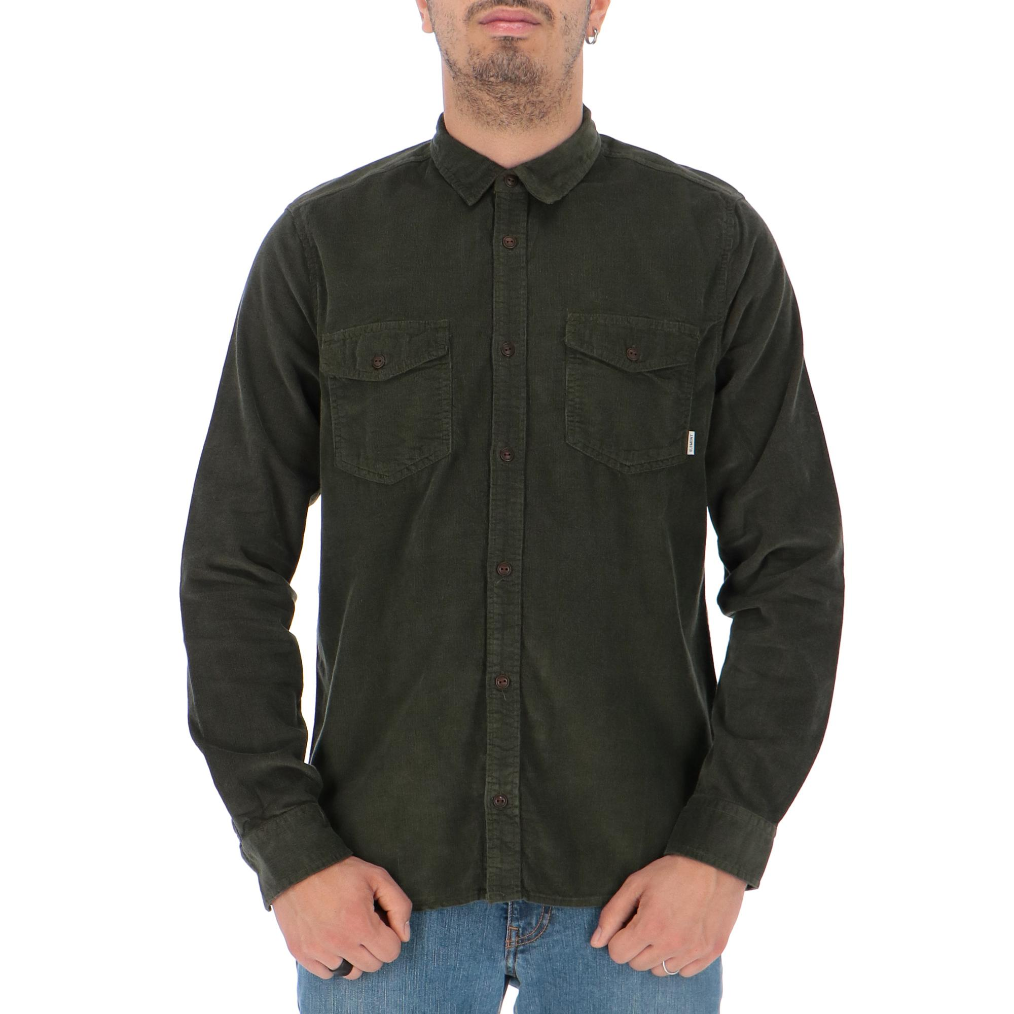 Element Pembroke Shirt FOREST NIGHT