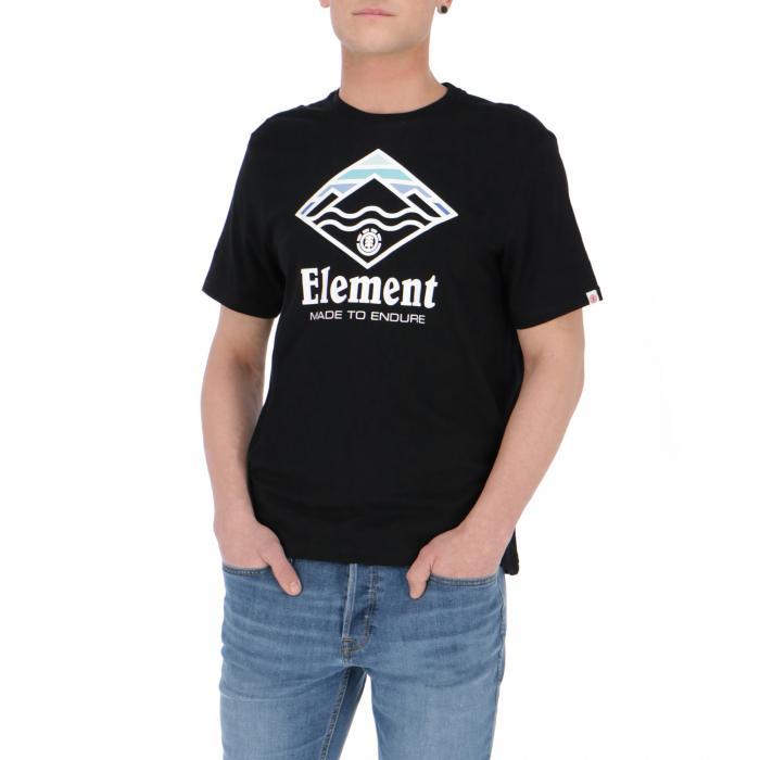 element t-shirt e canotte flint black