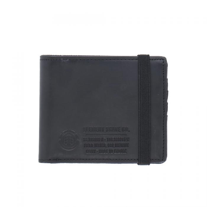 element portafogli e portachiavi black