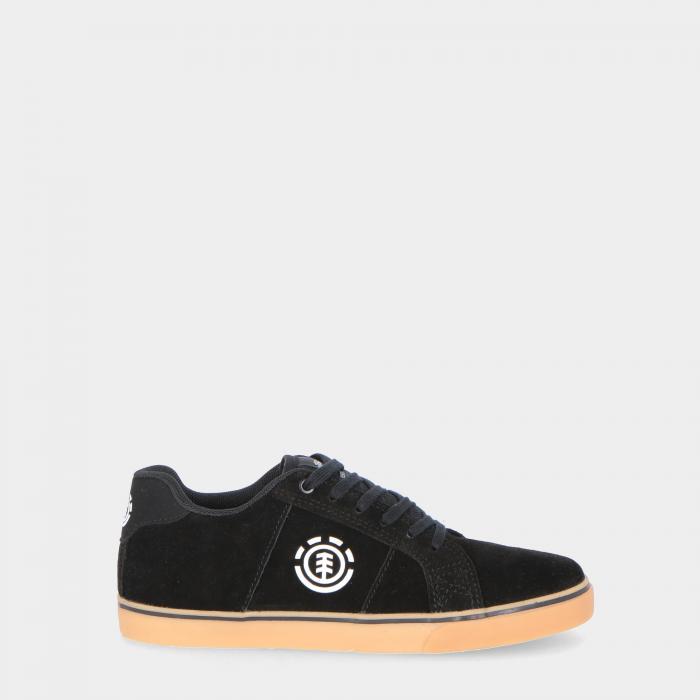 element scarpe skate black gum