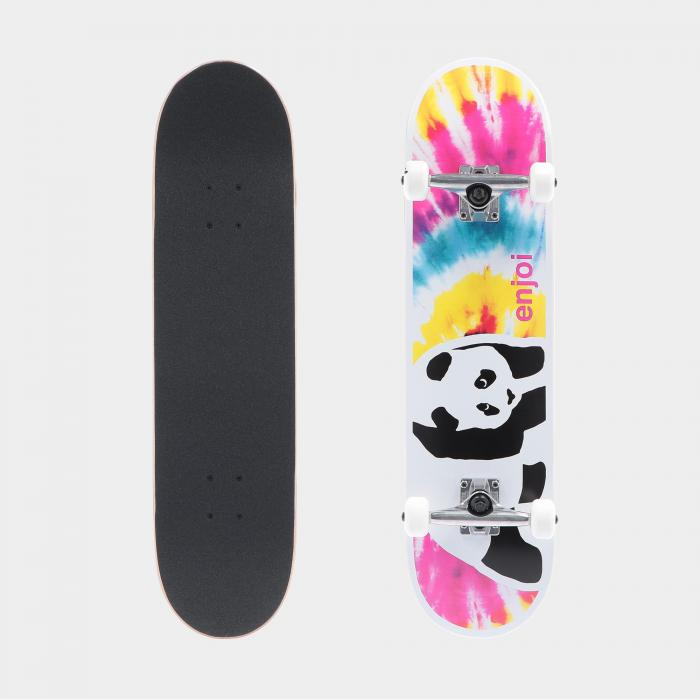 enjoi skateboard tie dye