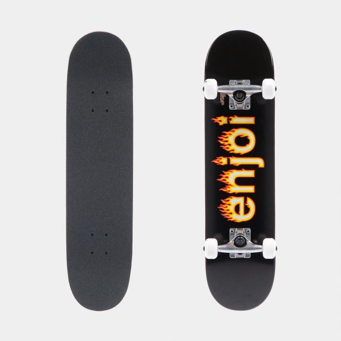 enjoi skateboard black
