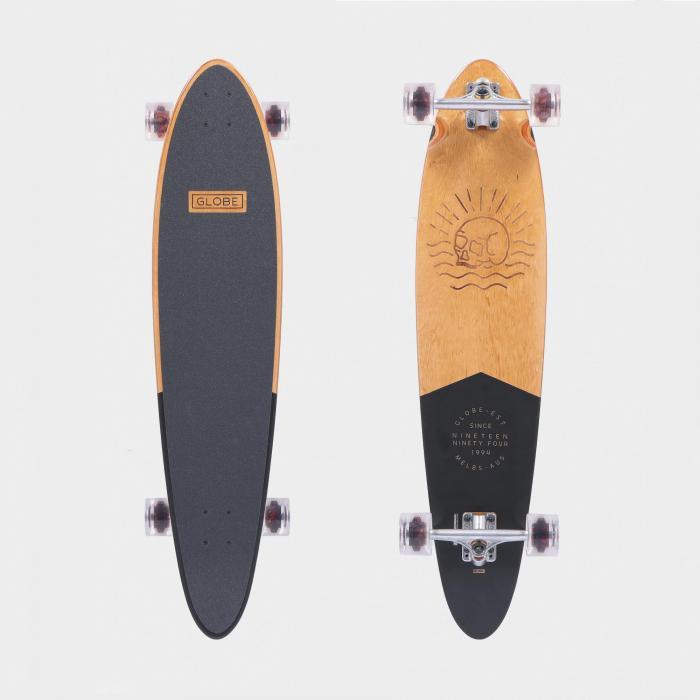 globe longboard black mahogany