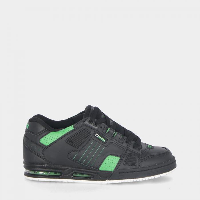 globe scarpe skate blk moto green