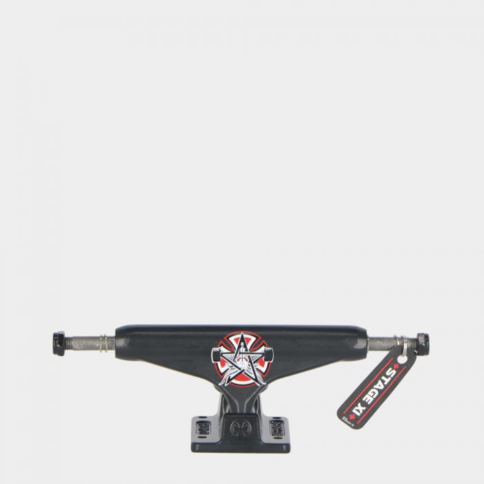 independent skateboard black