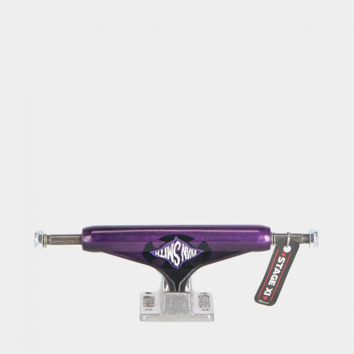 independent skateboard purple black