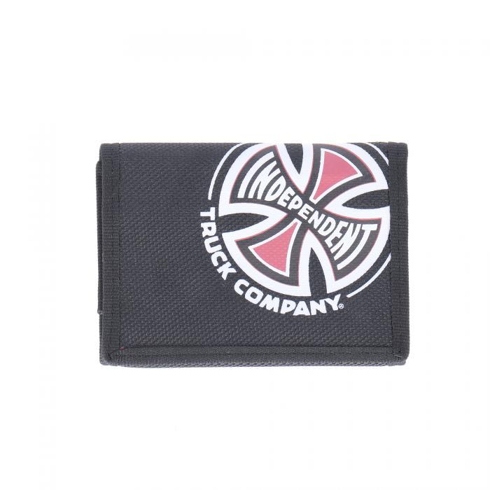 independent portafogli e portachiavi black