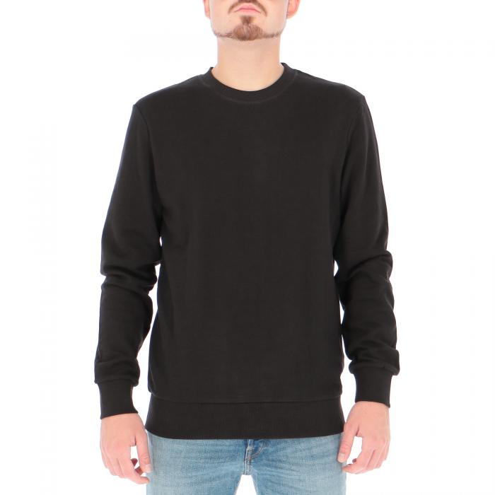 jack & jones felpa girocollo black