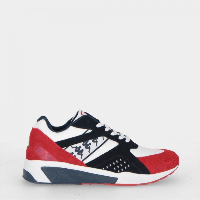 kappa scarpe lifestyle white red