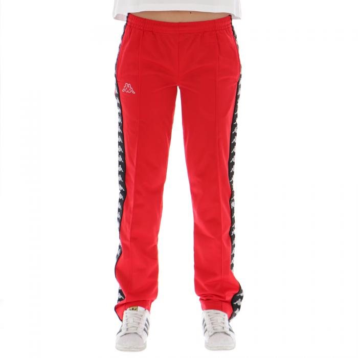 kappa pantaloni red black
