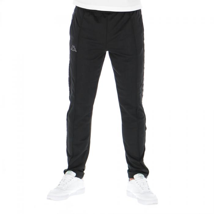 kappa pantaloni black grey