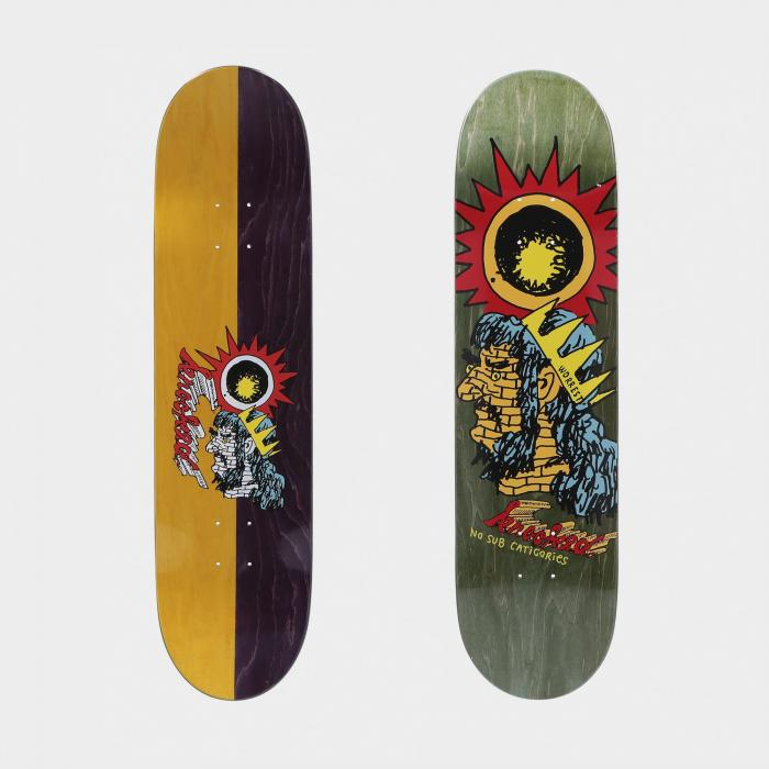 krooked skateboard assorted