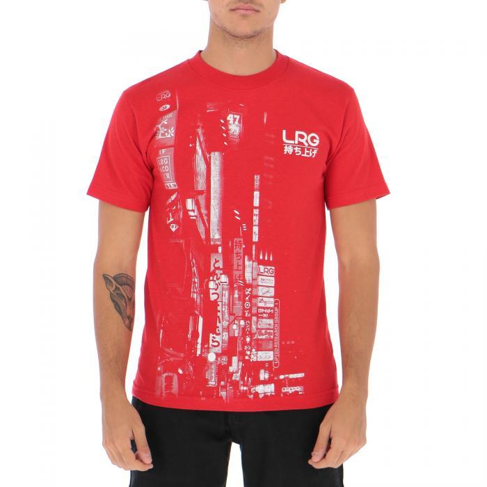 lrg t-shirt e canotte red