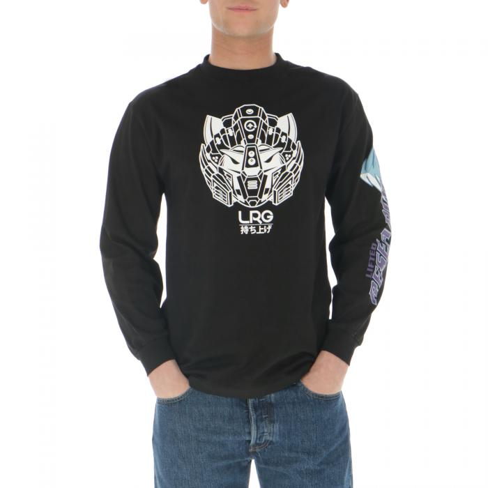 lrg t-shirt e canotte black