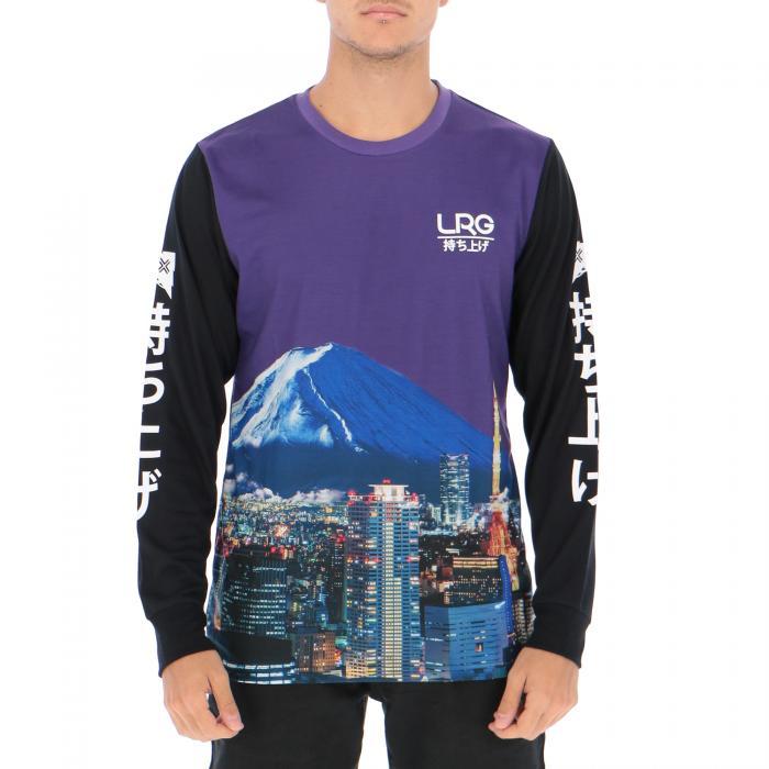 lrg t-shirt e canotte purple