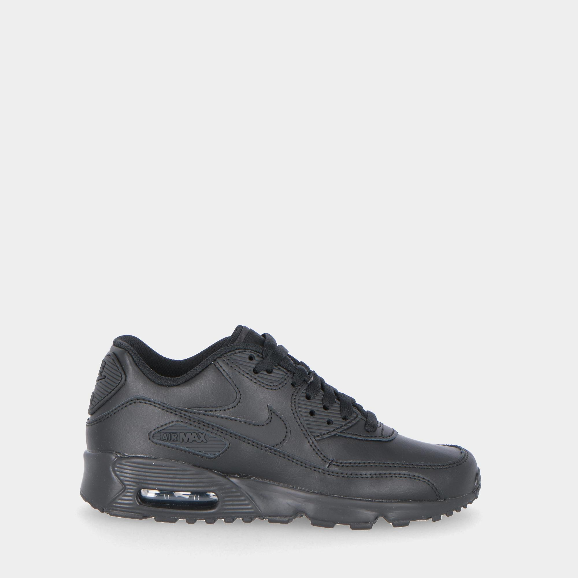 newest collection 59c46 24cc7 Nike Air Max 90 Leather (gs) - Kids Black