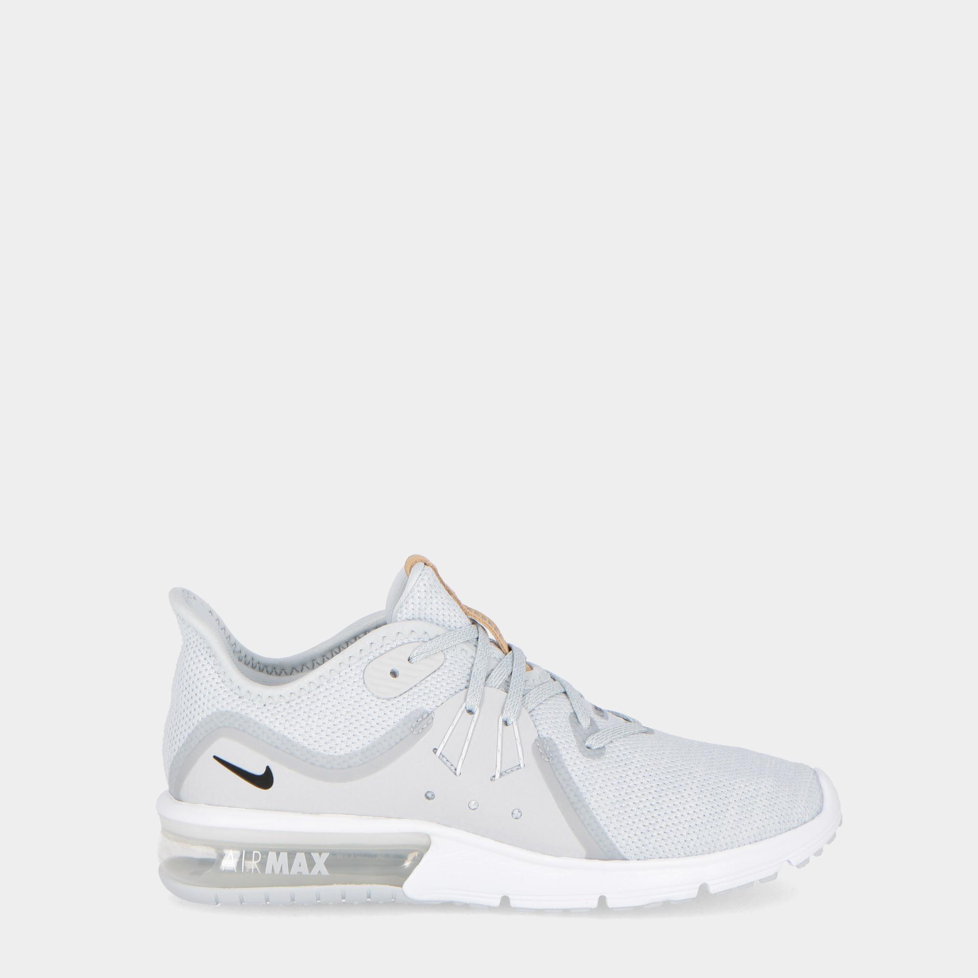 newest fbb7f f1630 Nike Air Max Sequent 3 Platinum black white