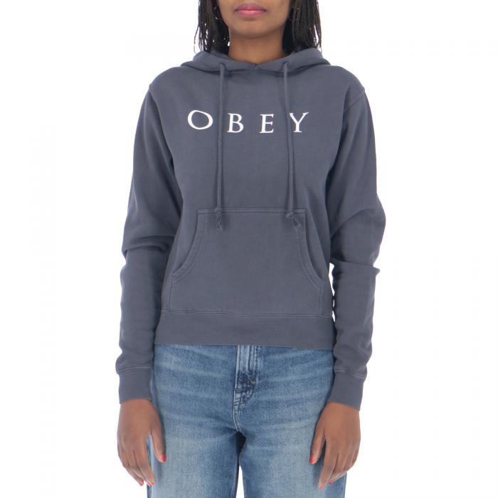 obey felpe dusty dark indigo