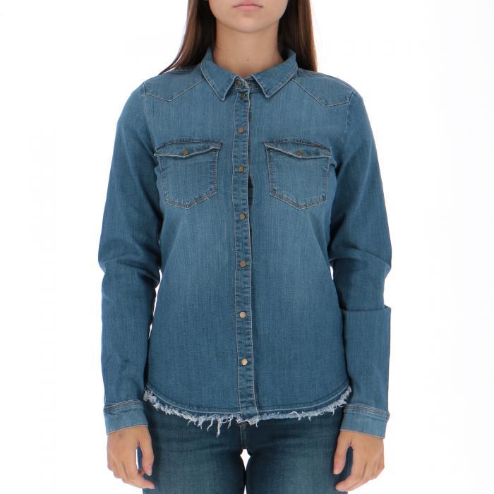 only camicie medium blue den
