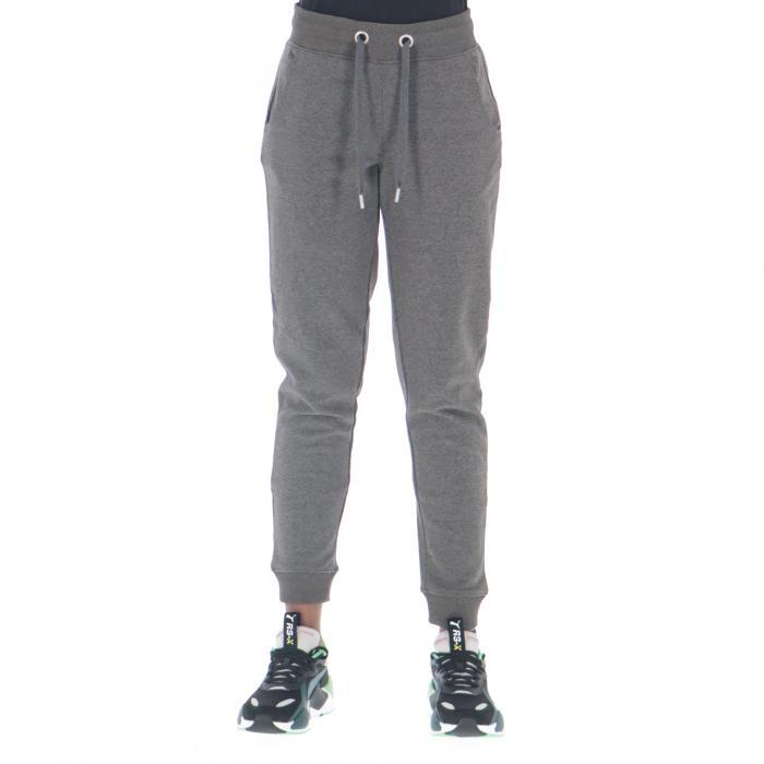 only pantaloni dark grey melange
