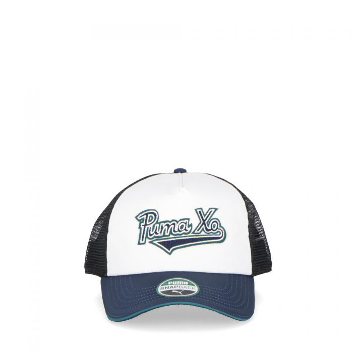 puma cappelli white blue