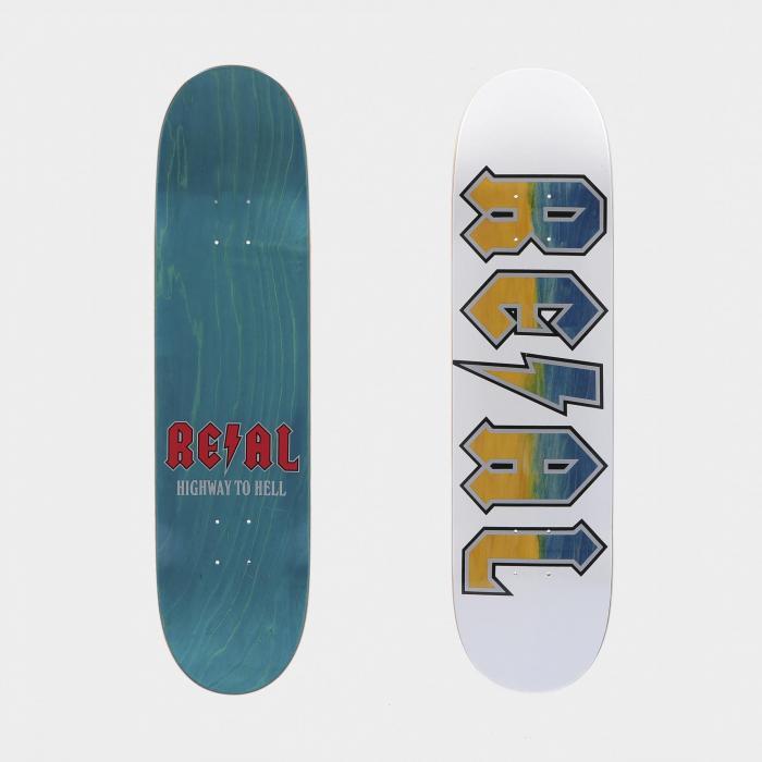 real skateboard assorted