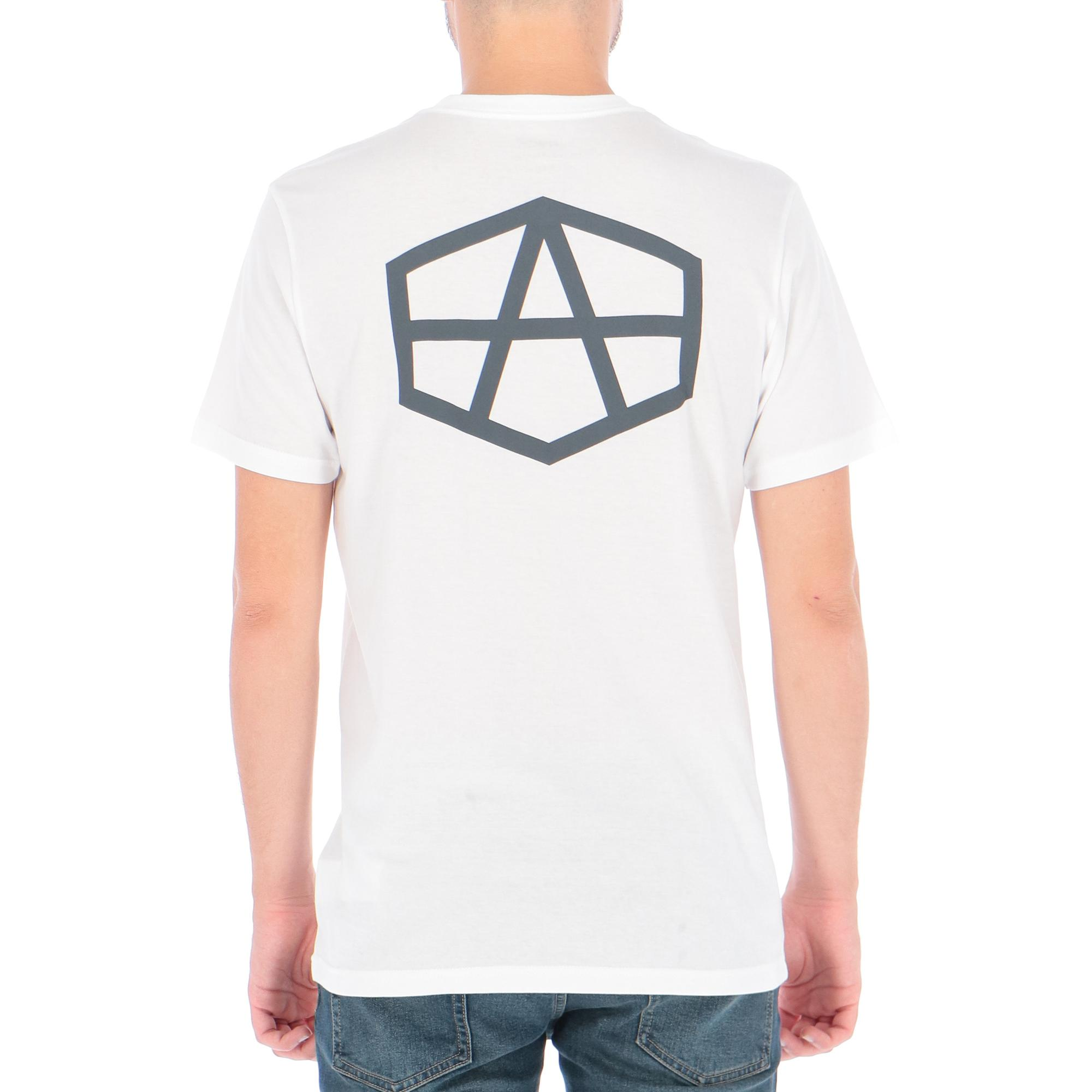 Rvca X Andrew Reynolds Hex T-shirt WHITE
