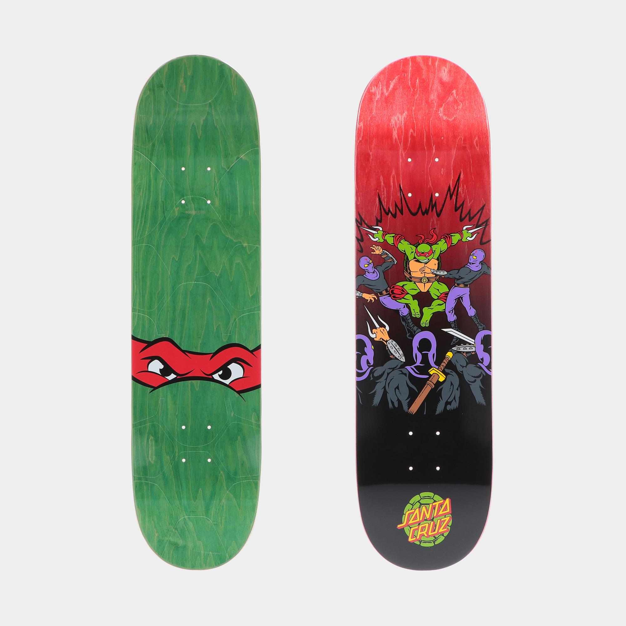 Santa Cruz X Tmnt Raphael Deck 8.25  ASSORTED