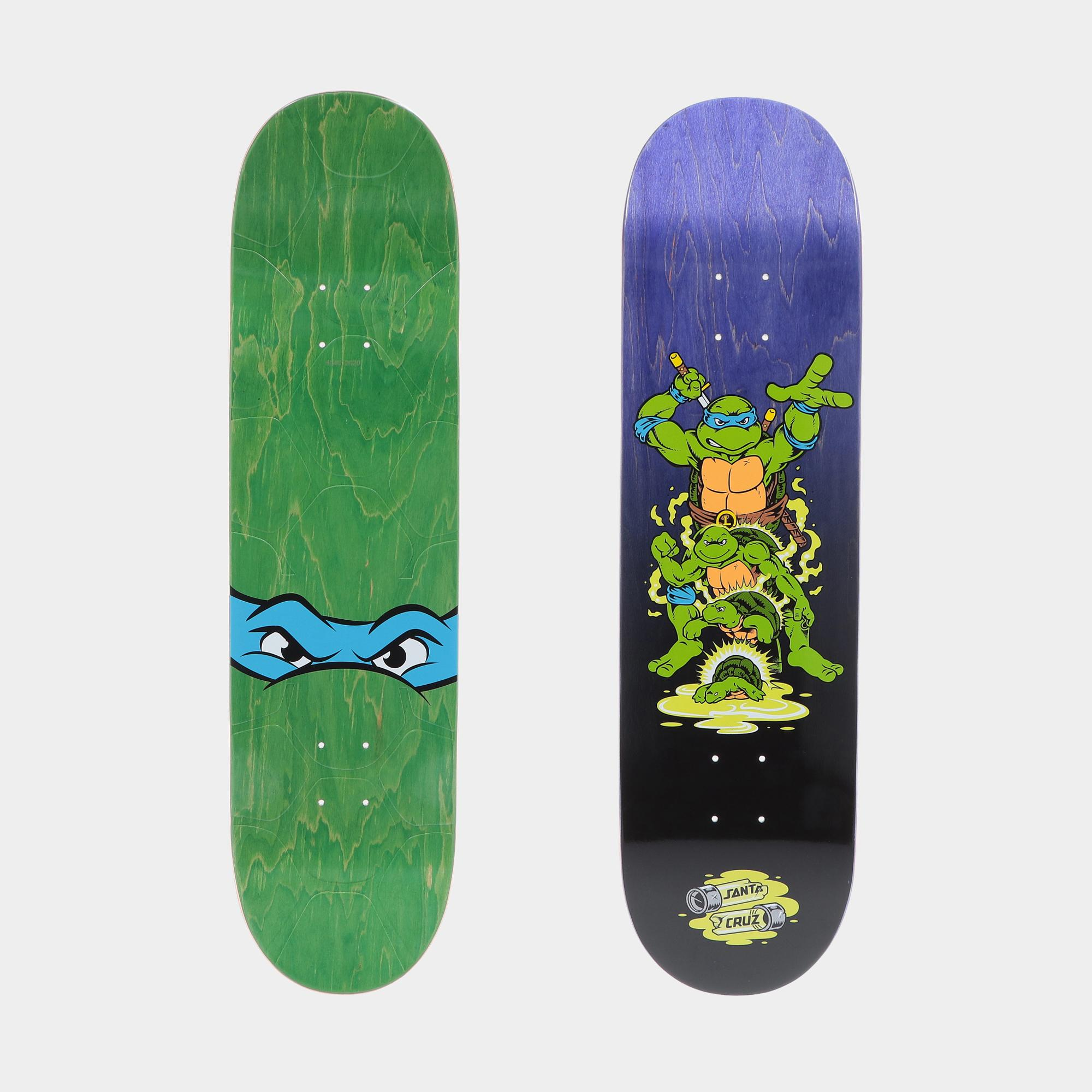 Santa Cruz X Tmnt Leonardo Deck 8.375  ASSORTED