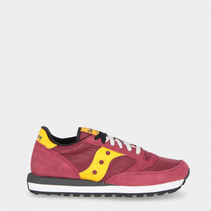 saucony scarpe lifestyle red gold