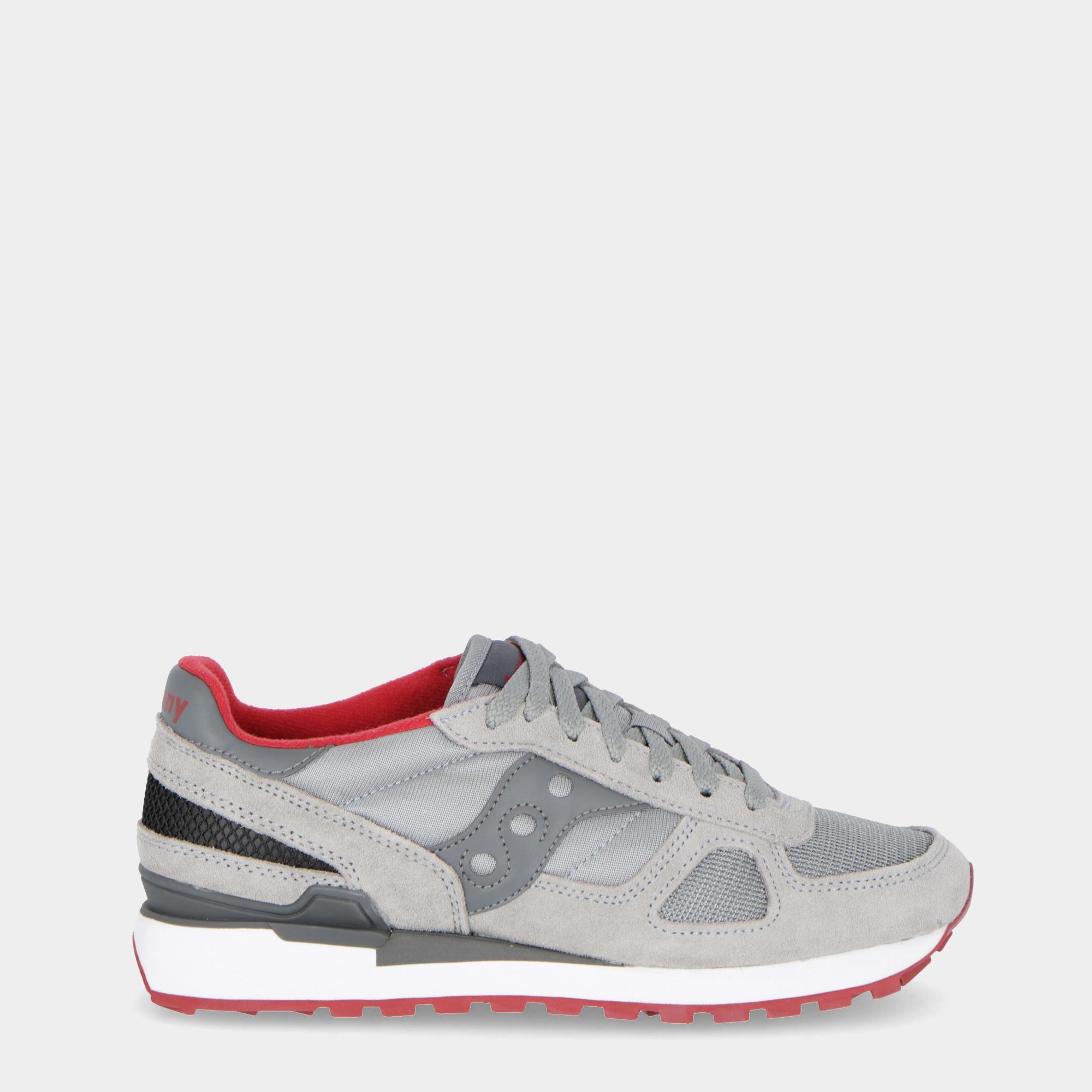 43979d2d529f Saucony Shadow Original Grey Red White
