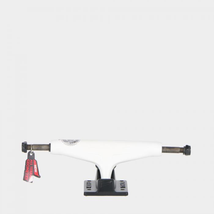 tensor skateboard white black red